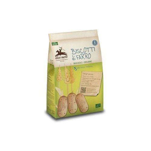 Ciastka orkiszowe z witaminą b1 dla dzieci bio 250 g - alce nero marki Alce nero (włoskie produkty)