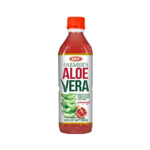 OKF 500ml Farmers Aloe Vera Napój aloesowy o smaku granatu