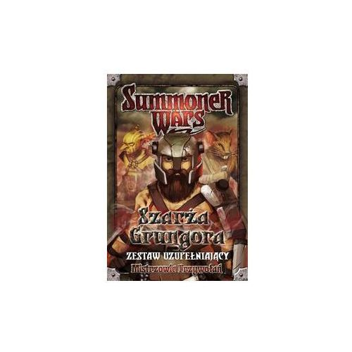 Summoner wars: szarża grungora - zestaw uzupełniający marki Cube - factory of ideas
