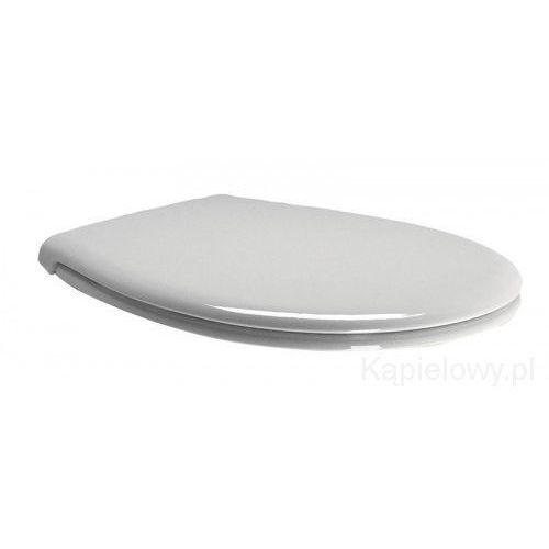 Gsi Classic deska wc wolnoopadająca, biała, zawiasy chrom msc87cn11