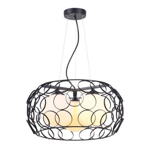 Lampa wisząca Coolio 3 x 60 W E27 czarna (5906737301333)