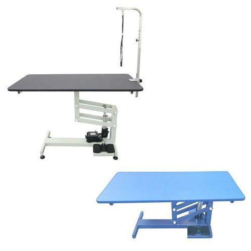 Shernbao Stół z podnośnikiem elektrycznym, blat 120x60 cm, regulacja wys. 52x100 cm