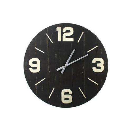 Mondex Duży zegar do zawieszenia ścienny 60 cm czarny