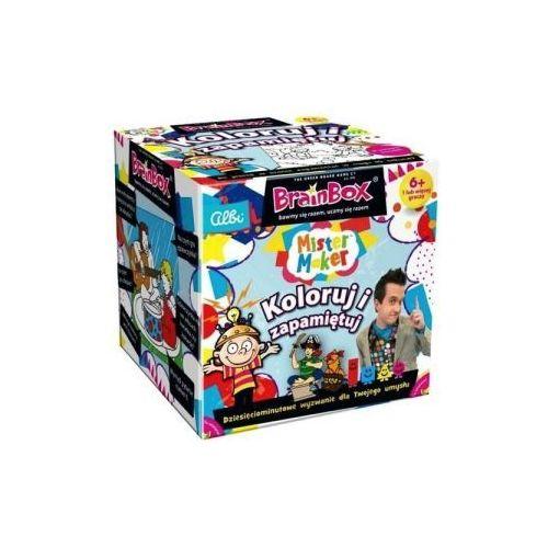 Brainbox: koloruj i zapamiętuj marki Albi