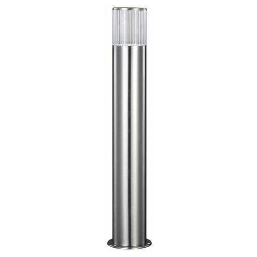 Zewnętrzna lampa stojąca collum 300706 nowoczesna oprawa ogrodowa słupek led 3,6w outdoor ip44 inox marki Polux