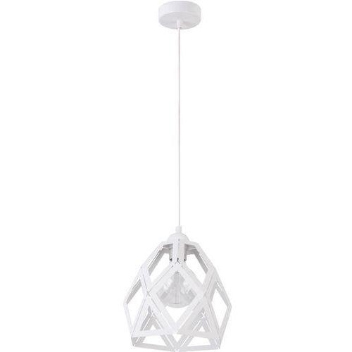 Sigma Lampa wisząca tao m 31727 metalowa oprawa geometryczna loft zwis biały