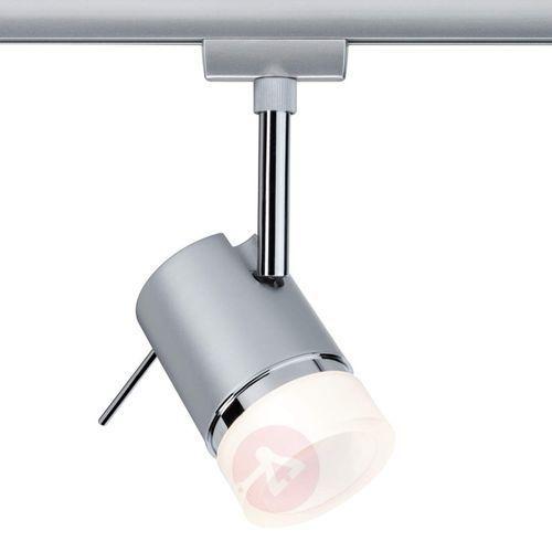 Lampa szynowego systemu oświetlenia 95227 ural, żarówka led, gu10, 230 v, 3.5 w, chrom (matowy) marki Paulmann