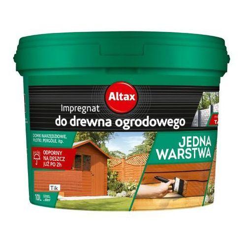 - impregnat do drewna ogrodowego, tik, 10 l marki Altax