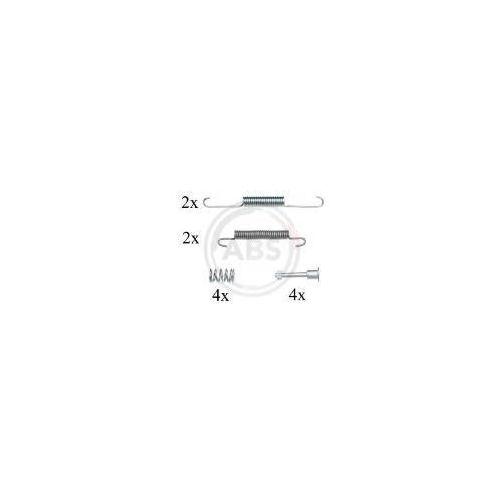 A.B.S. Zestaw akcesoriów, szczęki hamulcowe hamulca postojowego - 0826Q - produkt z kategorii- Szczęki hamulcowe