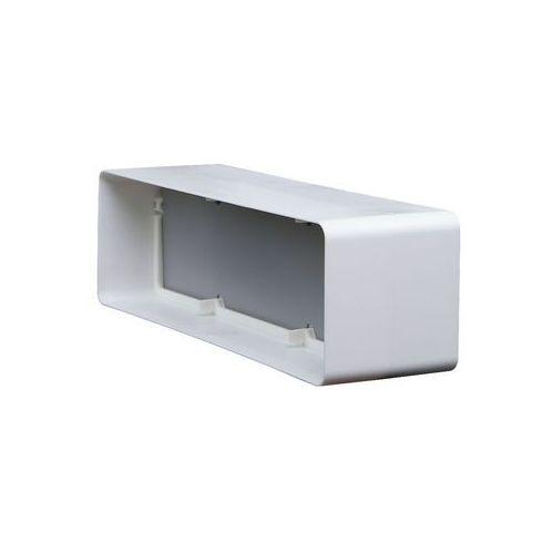 Łącznik kanałów płaskich z zaworem zwrotnym 12x6 cm kod 427 - specjalistyczny sklep - 28 dni na zwrot - raty 0% marki Domus