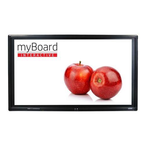 """Myboard Monitor interaktywny black led 65"""" 4k uhd z androidem + ops plus i3-7100"""
