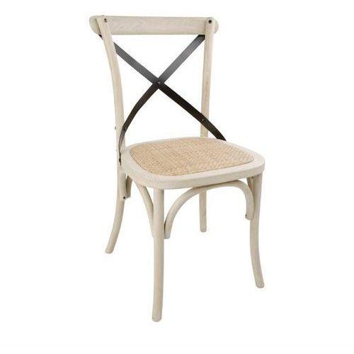 Krzesło drewniane | 2 szt. | 46x54x(h)88cm marki Bolero