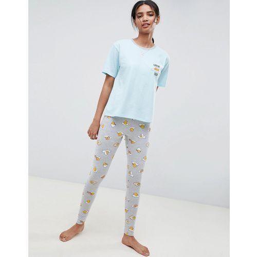 design gudetama current mood legging pyjama set - multi marki Asos