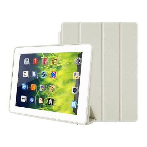 Etui Smart Case do Apple iPad 2 3 4 Białe + Szkło 9H - Biały, kolor biały