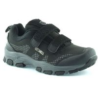 Dziecięce buty sportowe American Club 1604 - Czarny ||Szary