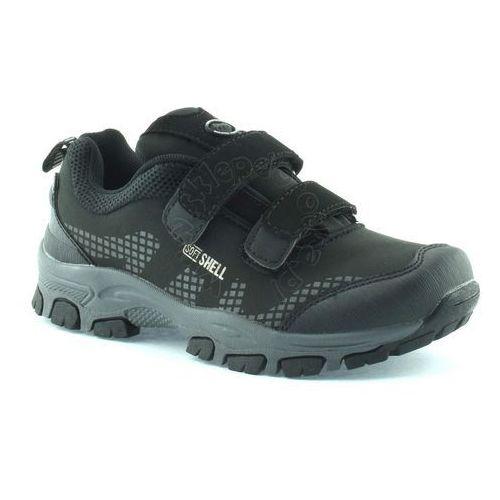 American club Dziecięce buty sportowe 1604 - czarny ||szary