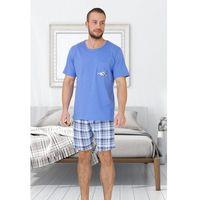 Piżama frank 607 kr/r m-2xl 2xl, granatowy. m-max, 2xl, l, m, xl marki M-max