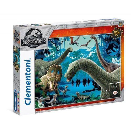 Puzzla 104 Supercolor Jurassic World, 1_649403