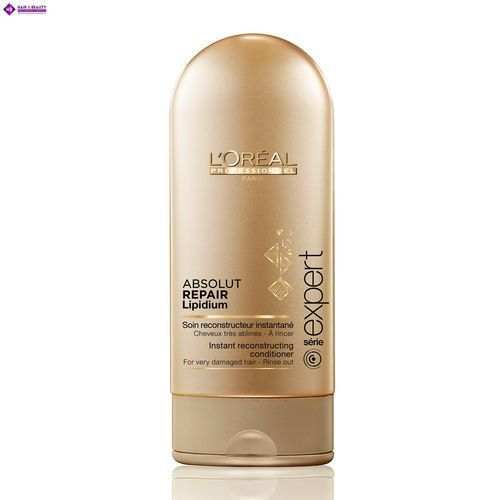 Loreal Absolut Repair Lipidium, odżywka regenerująca włosy uwrażliwione, 150ml (3474630640863)