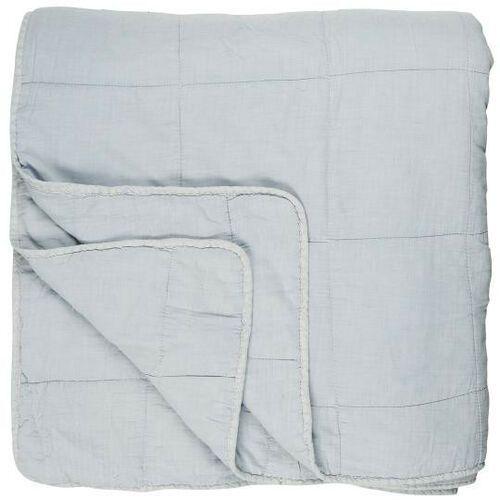 Ib Laursen - Podwójna narzuta na łóżko w kolorze jasnoniebieskim