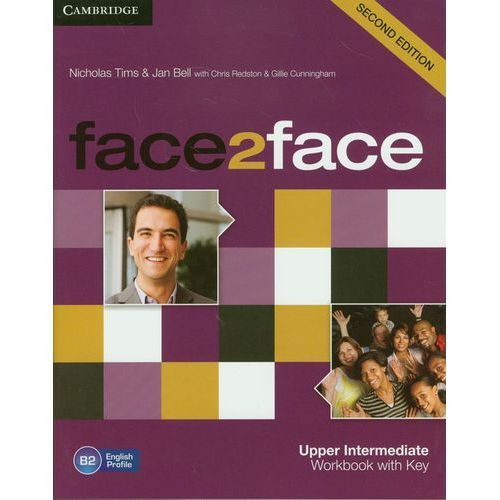 Face2face 2ed Upper-Intermediate Workbook With Key, Tims, Nicholas / Bell, Jan