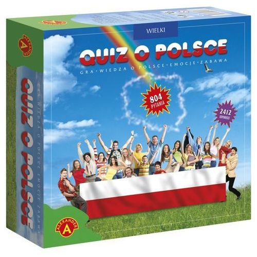 Alexander Quiz wielki quiz o polsce + gwarancja dostawy przed świętami! (5906018004151)