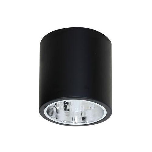 Plafon lampa sufitowa spot downlight round 1x60w e27 czarny 7243 >>> rabatujemy do 20% każde zamówienie!!! marki Luminex