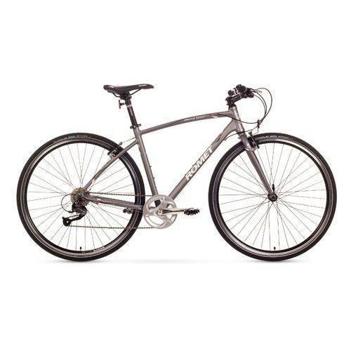 Rower  mistral urban 21 srebrny marki Romet