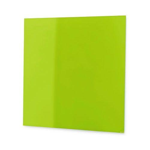 Tablica suchościeralna Mood szkło magnetyczna 1000x1000 mm jasnozielony, 3803310
