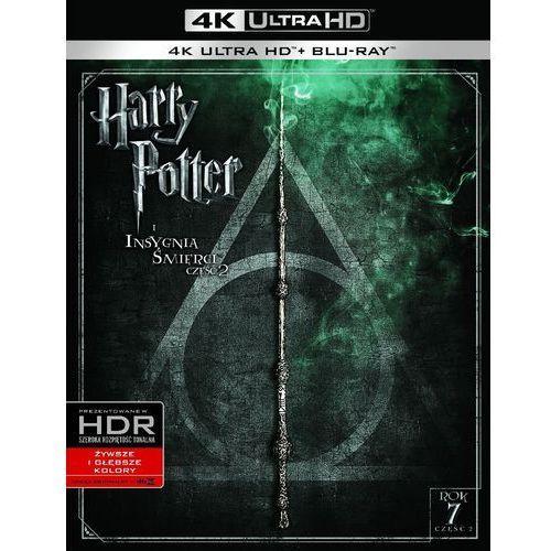 Harry potter i insygnia śmierci. część 2 (4k ultra hd) (blu-ray) - darmowa dostawa kiosk ruchu marki David yates