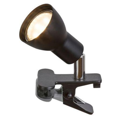 Rabalux 3475 lampa biurkowa na klipsie czarna fred