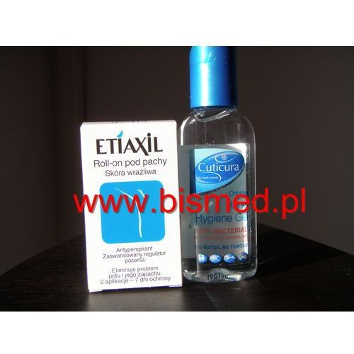 Etiaxil Roll-on pod pachy, antyperspirant, skóra wrażliwa, 12,5 ml z kategorii Antyperspiranty unisex