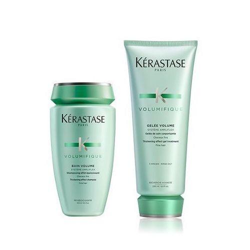 Kerastase Volumifique Zestaw nadający objętość | szampon 250ml + mleczko 200ml