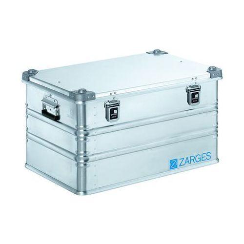 Aluminiowa skrzynka transportowa, poj. 121 l, dł. x szer. x wys. wewn. 690x460x3 marki Zarges
