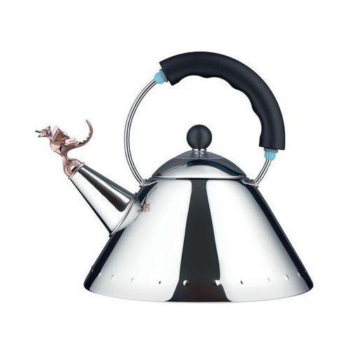 Czajnik 9093 tea rex edycja limitowana czarna rączka miedziany smok marki Alessi