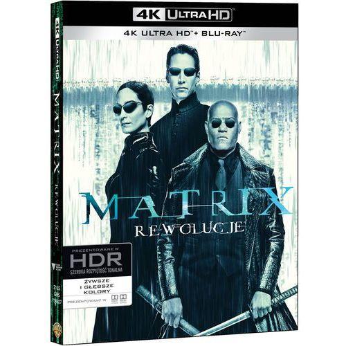 Rodzeństwo wachowski Matrix rewolucje (3bd 4k) (płyta bluray) (7321999349271)
