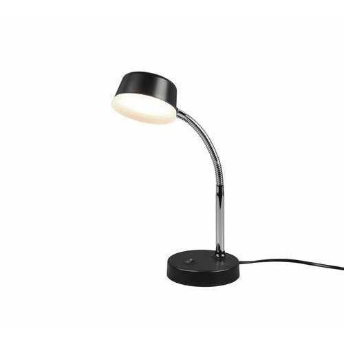 Trio rl kiko r52501102 lampa stołowa lampka 1x4w led czarna (4017807480979)