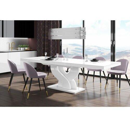 Stół rozkładany BELLA 160-256 Biały połysk