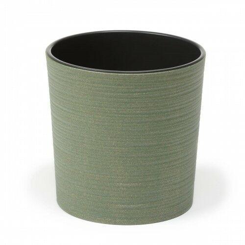 Donica Malwa ECO 25 cm dłuto zielona 105/177-3