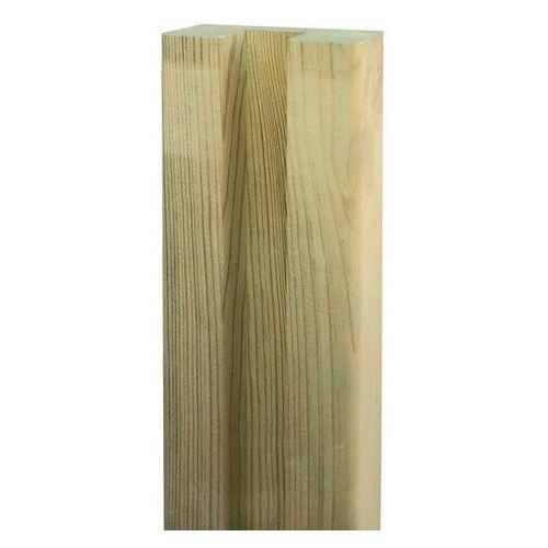 Goodhome Słupek ogrodzeniowy drewniany neva 4,5 x 9 x 240 cm (3663602433408)