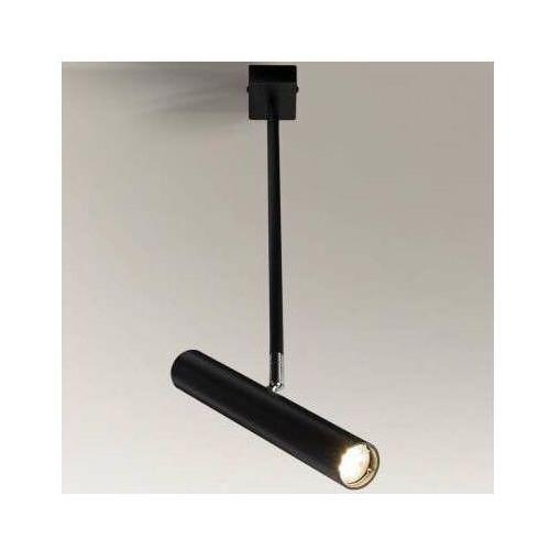 LAMPA sufitowa YABU 2241 Shilo metalowa OPRAWA reflektorowa TUBA regulowana czarna (5903689922418)