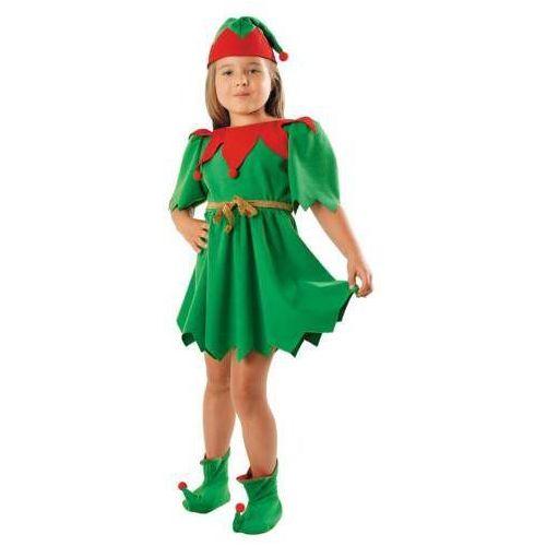 Strój elf sukienka - 134/140 marki Gama ewa kraszek