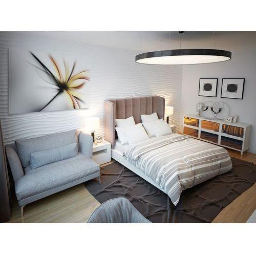 Wdzięczne ekwilibrium - nowoczesny obraz do sypialni - 120x80 cm