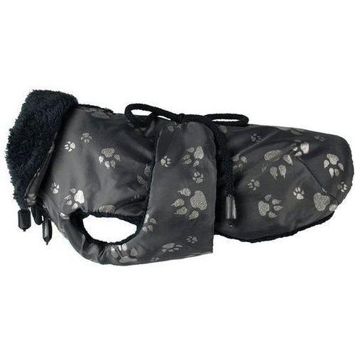 dw24 derka dla psa czarna stopki odblask końcówka kolekcji marki Grande finale