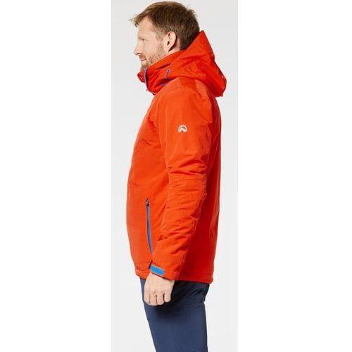 Northfinder męska kurtka narciarska demetrius czarny/pomarańczowy xxl (8585048775667)