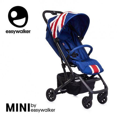 Easywalker Mini by buggy xs wózek spacerowy z osłonką przeciwdeszczową union jack classic