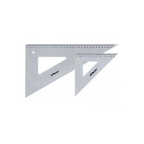 Przybory kreślarskie Ekierka profesjonalna metalowa 60/50cm x1