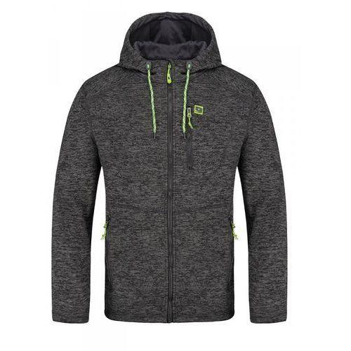 Loap męski sweter outdoor gerard czarny xxl
