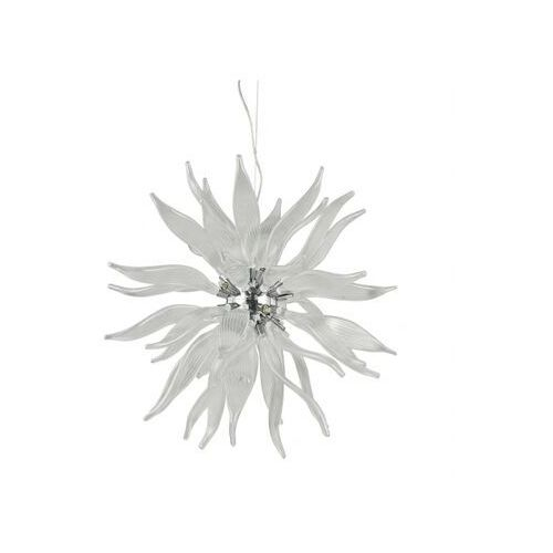 Ideal lux Lampa wisząca leaves sp8 bianco
