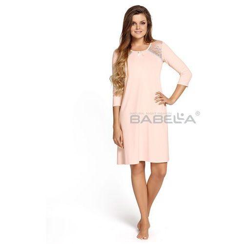 Koszula Babella Ramona M-4XL 4XL, kremowo-beżowy, Babella, 5901769728653